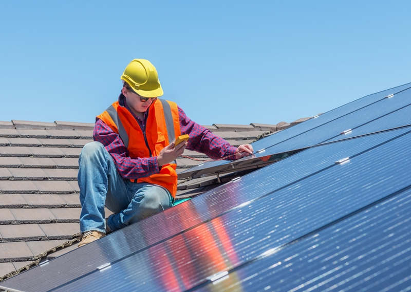 Offer financing to customers who want to install solar panels.